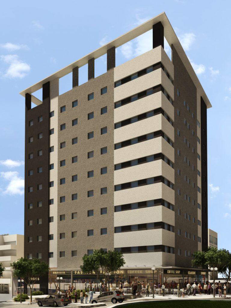 """מימון יזום בנייה, פרוייקט מסחרי חדרה 13,000 מ""""ר"""